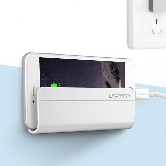 Adhesive Wall Mounted Smart Device Holder
