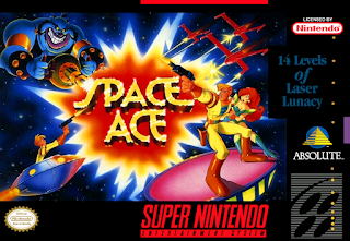 Space ace (BR) [ SNES ]