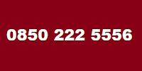 0850 222 5556 Telefon Numarası Kimin