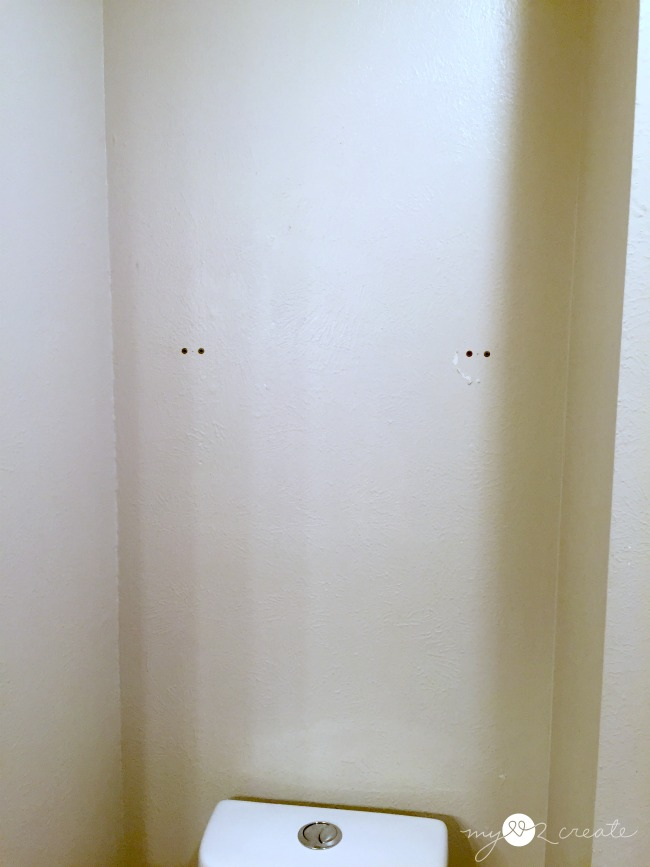 blank wall before