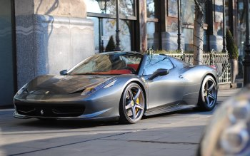 Wallpaper: Ferrari 458 Spider