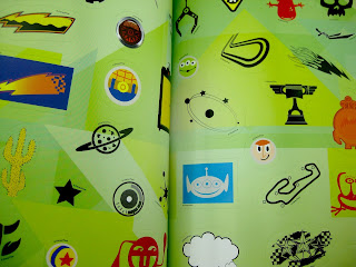 pixar sticker book
