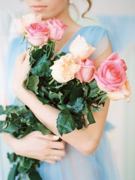 Bouquet Roses by Weddy Wood  Photo: Olga Plakitina