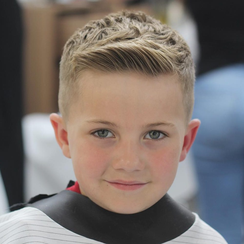 Short Undercut Hairstyle. A great looking kids short hair undercut. Where  sides of the hairs are very small in inches as compare to the top of the  head.