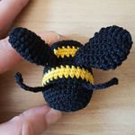 http://www.ravelry.com/patterns/library/bumble-bee-rattle