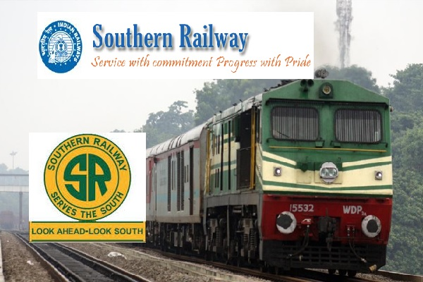 1421-Southern Railways Chennai Recruitment 2017