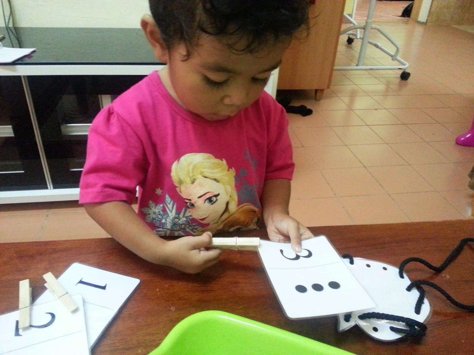 Mama Homeschool Aktiviti Mengenal Huruf Aa Amp Nombor 1 3