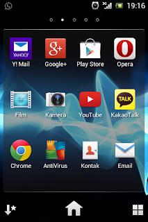 Cara mengambil gambar screenshot pada layar handphone