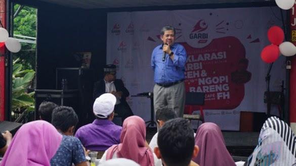 Fahri soal Politik Genderuwo: Jokowi Tepuk Air Tepercik Muka Sendiri
