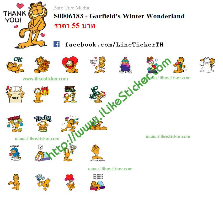 Garfield's Winter Wonderland