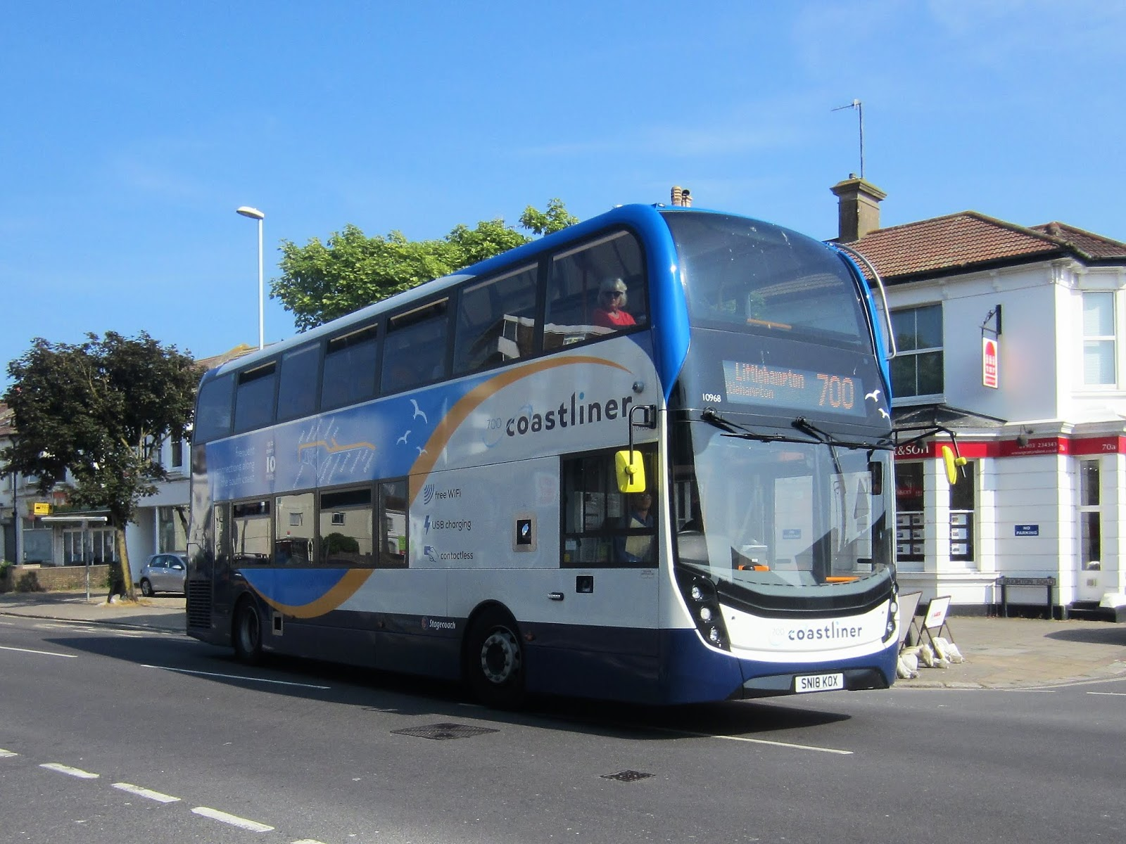 The Main Change Since Our Last Visit Is Introduction Of Thirty 2018 Registered Alexander Dennis Enviro400MMCs Operating 700 Coastliner Service