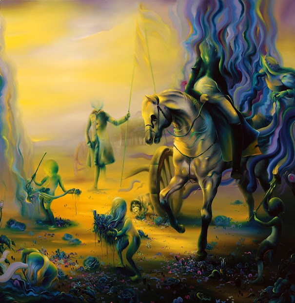 Michael Page 1979 Pop Surrealism Painter Tutt'art