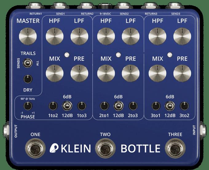 Matrixsynth Vfe Pedals Klein Bottle Multipath Multiband
