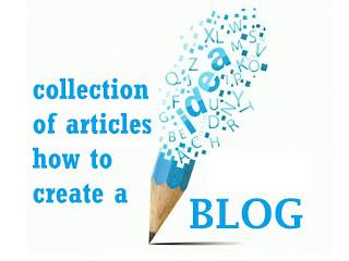 artikel tips trik dan cara membuat blog