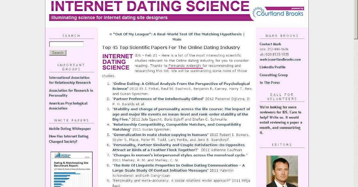 Writing An Online Dating Profile
