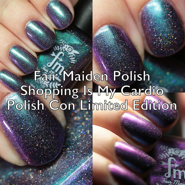 Fair Maiden Polish Shopping is My Cardio