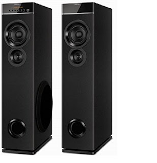 Philips SPT 6600 Tower Speakers