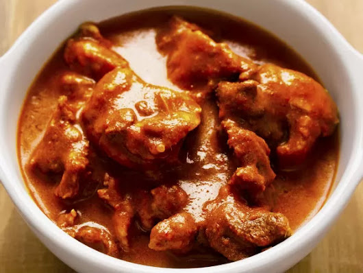Famous Bengali mutton curry