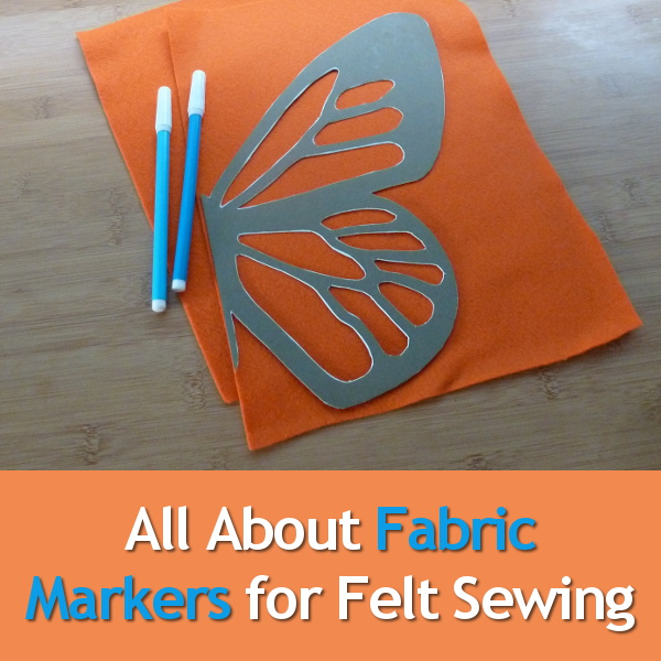 What temporary fabric markers are best for felt sewing all about marking tools