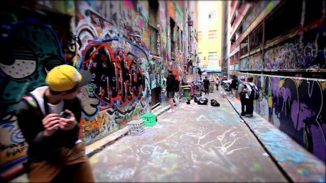 Mengagumi Vivid Street Art di Melbourne