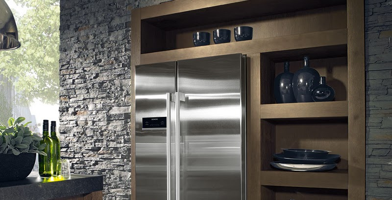 meuble frigo americain. Black Bedroom Furniture Sets. Home Design Ideas