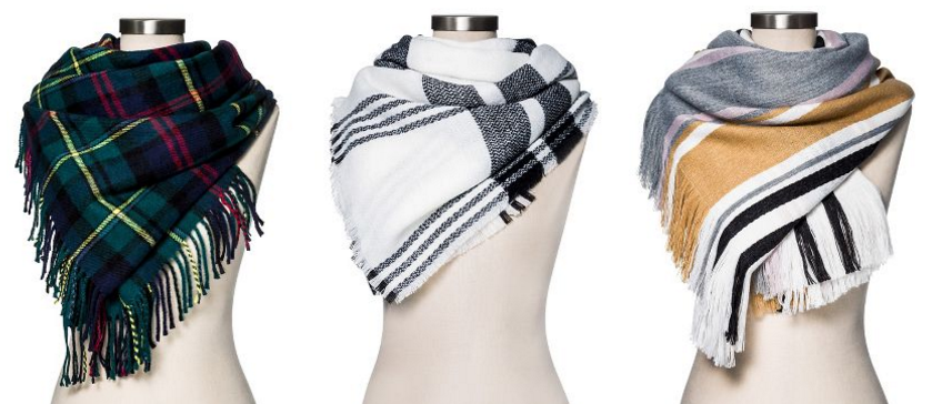 Merona Blanket Scarves for only $14 (reg $20)