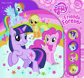 MLP Play-a-Sound Friends Forever Book Media