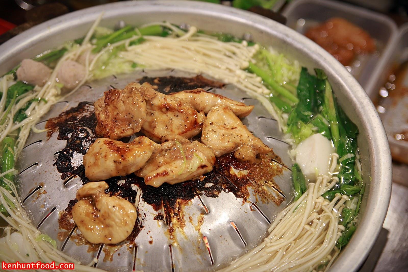 Ken Hunts Food: Bangkok Garden BBQ- Mookata @ Automall, Georgetown ...