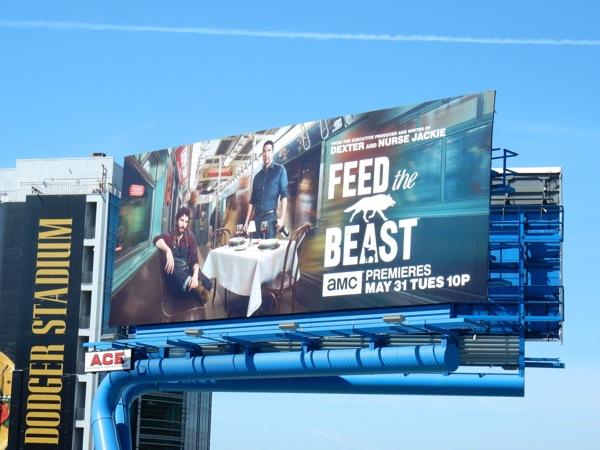 Feed the Beast series premiere billboard