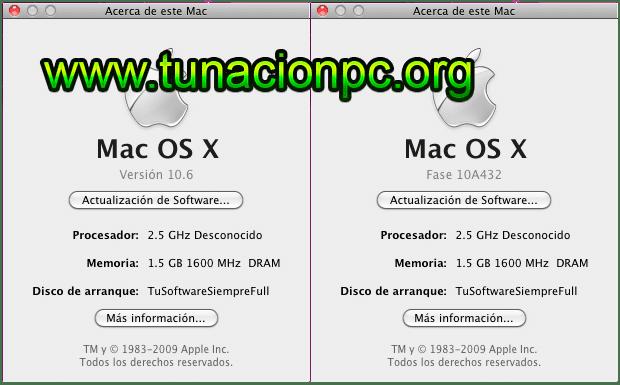 Mac OS X Snow Leopard v10.6