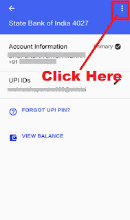 how can i delete my bank account in google tez app