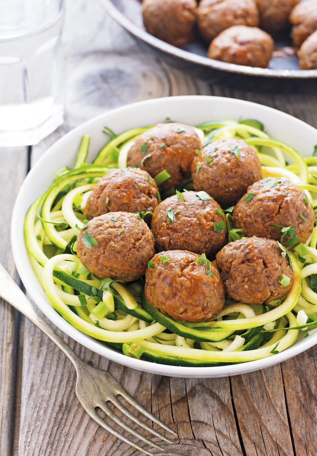 Glazed Korean-Style Meatballs