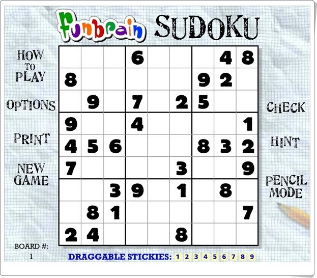 http://www.matematicasdivertidas.com/Zonaflash/juegosflash/Sudoku.swf