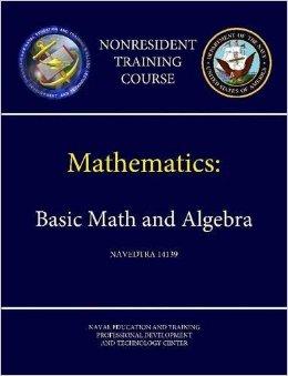 Mathematics Basic Math And Algebra Navedtra 14139 Pdf Free Download
