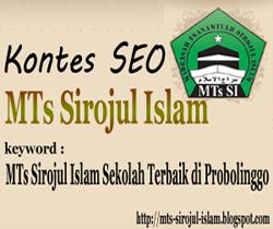 mts sirojul islam sekolah terbaik di probolinggo