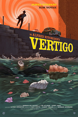 Vertigo Metallic Variant Screen Print by Jonathan Burton x Mad Duck Posters