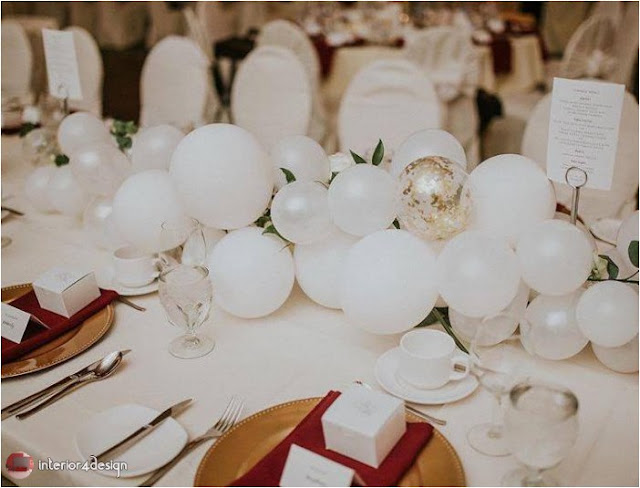 Wedding Decorations With Balloons And Flowers 13