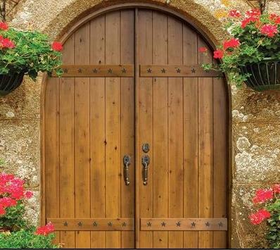 Fotos y dise os de puertas portones puertas for Puertas y portones de madera