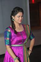 Shilpa Chakravarthy in Purple tight Ethnic Dress ~  Exclusive Celebrities Galleries 007.JPG