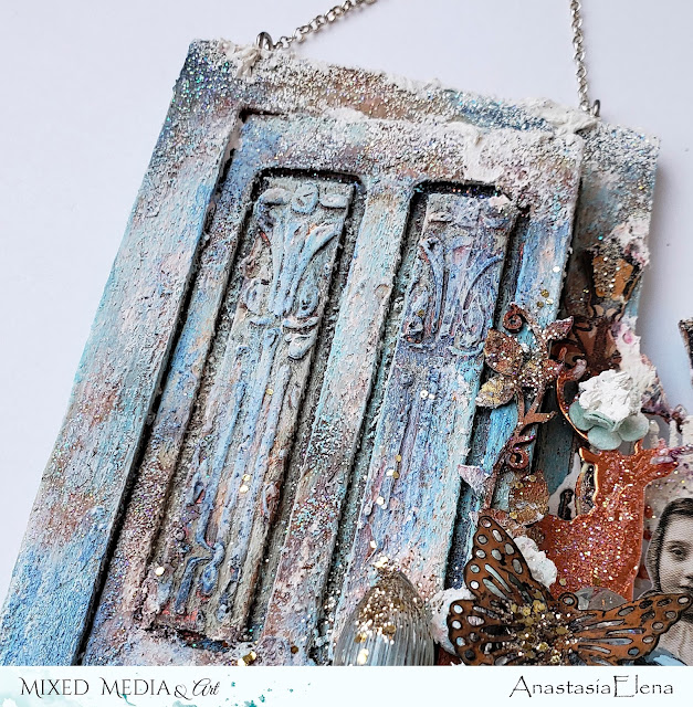 @nastyalena #mixedmedia #homedecor #alteredart