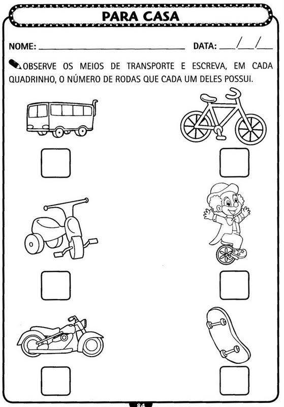 Atividades De Matematica Para Educacao Infantil Atividades Pedagogicas