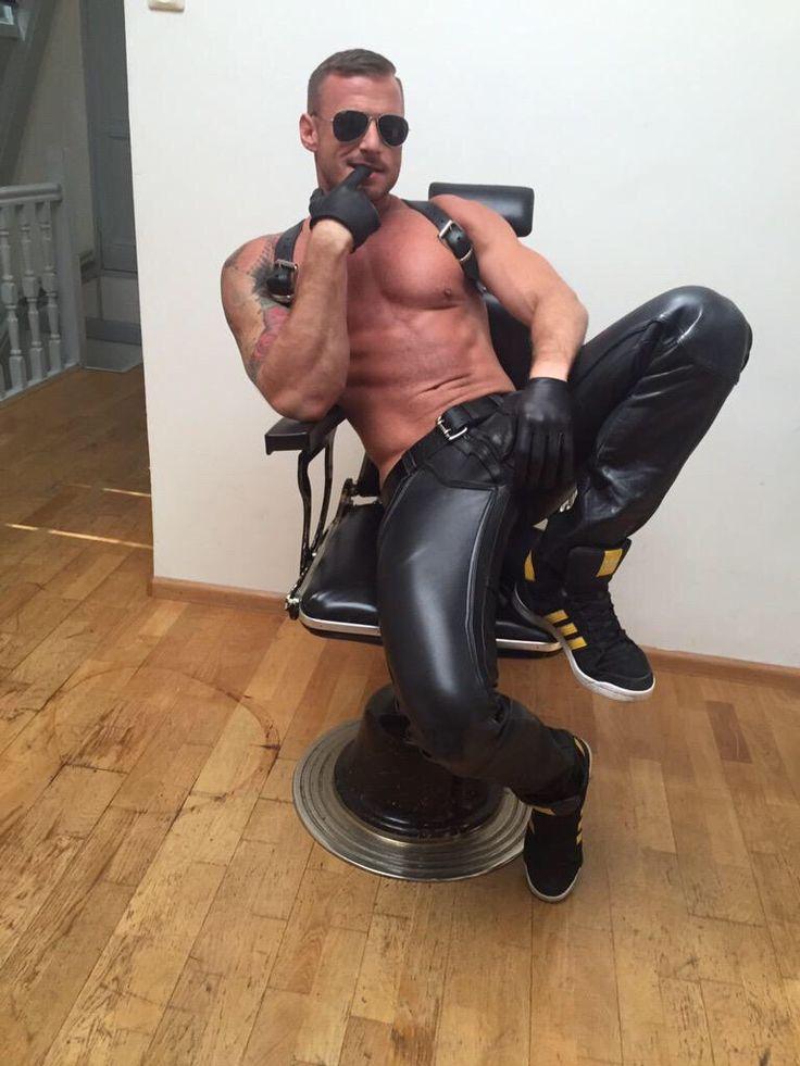 from Emanuel fetish gay jacket leather