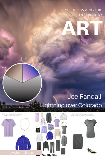 How to Build a Capsule Wardrobe From Scratch: Personalizing the Basics, based on Lightning over Colorado by Joe Randall