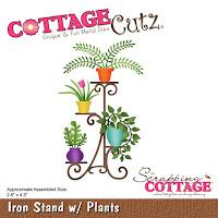 http://www.scrappingcottage.com/cottagecutzironstandwplants.aspx