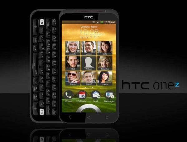 生活技.net: HTC概念機出側滑全鍵盤ONE Z
