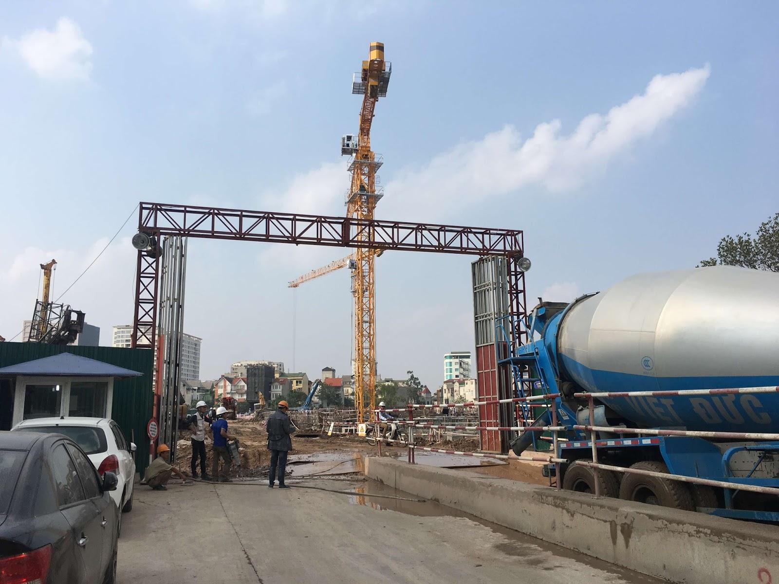 Tiến độ thi công dự án chung cư Imperia Sky Garden Minh Khai