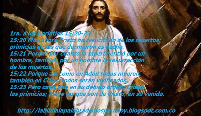Jesús resucitado imágenes-1-corintios-15-20-23