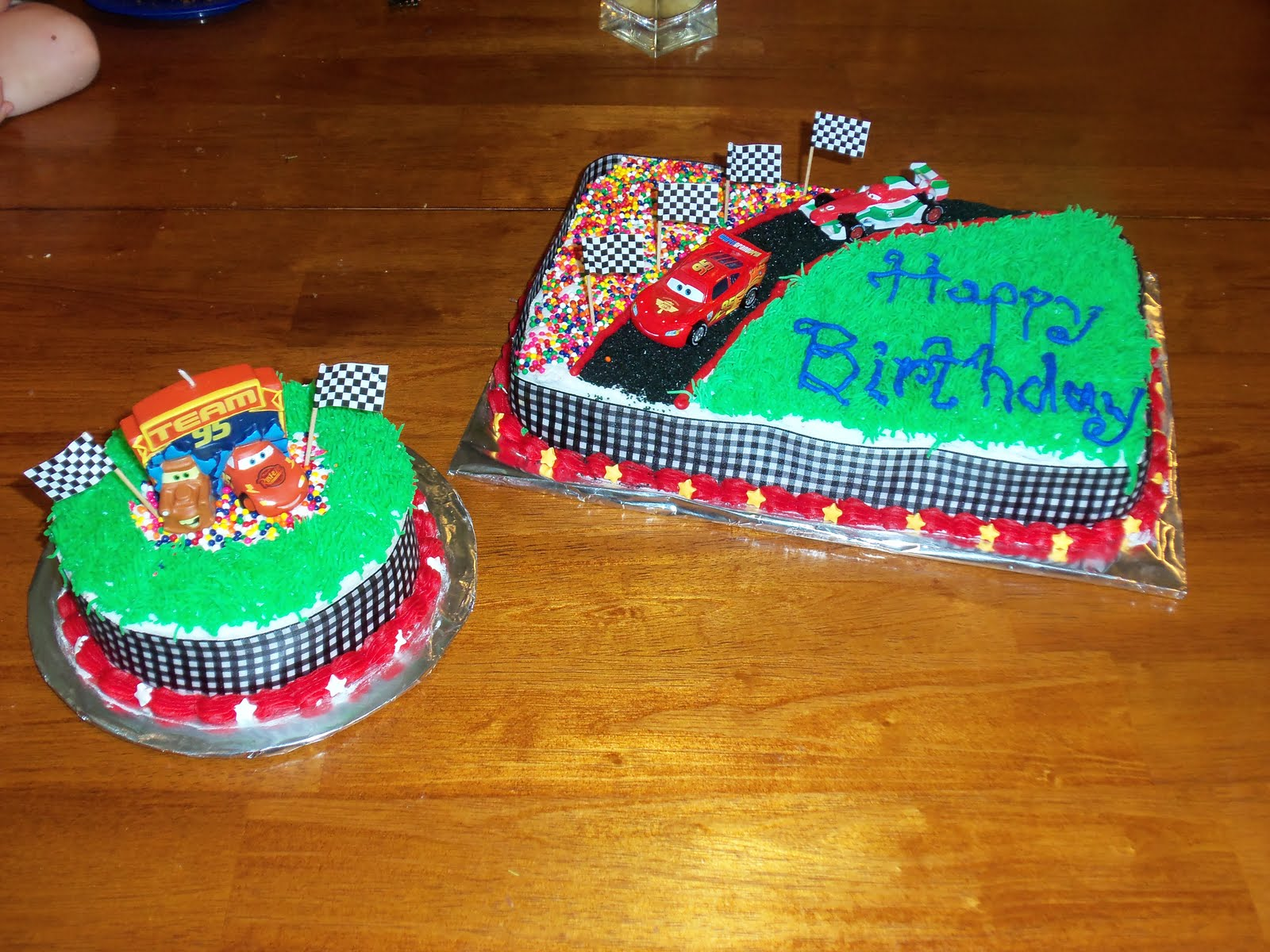 My Charming Cakes Cars Cake And Smash Cake
