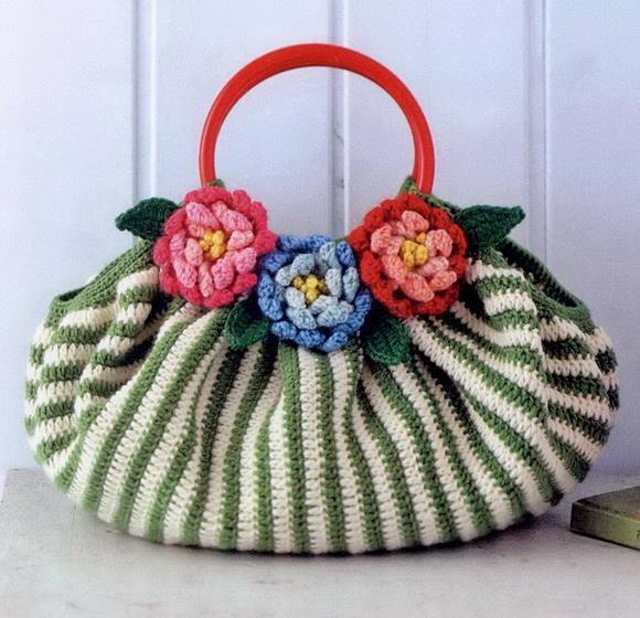 Crochet Handbag, Easy