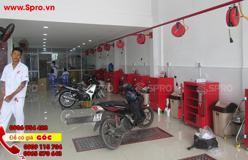 Bàn nâng sửa xe máy giá rẻ tại Bình Dương, Đồng Nai